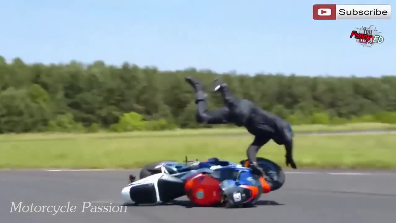 Motorcycle Crash Compilation 2016 - YouTube