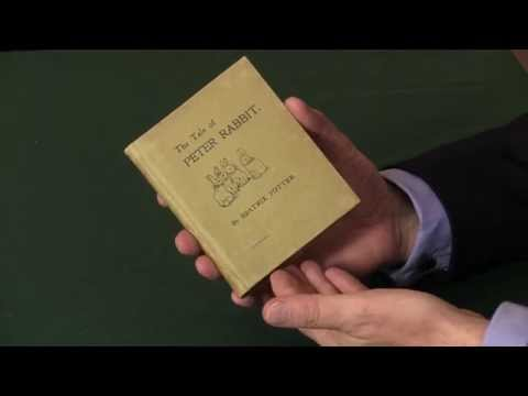 Beatrix Potter, The Tale Of Peter Rabbit, First Edition.