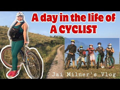 A DAY IN THE LIFE of a Beginner Cyclist with PUTOSIK BIKERS | TEAM JAGOBINIANS| Jai Milner'sVLOG