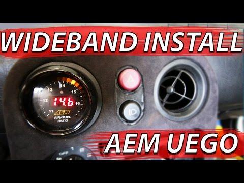 AEM WideBand O2 Install, Miata is Broken... ||Boosted Miata Build||