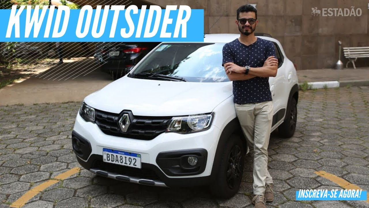 Tudo sobre o Renault Kwid Outsider