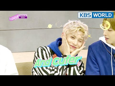 Today's GUEST : SF9 / The Unit's [KBS World Idol Show K-RUSH3 / ENG,CHN / 2018.3.23]