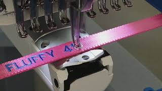 Embroidered dog collar Berkshire Embroidery 413 346 4836