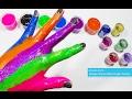 mainan anak belajar warna 💚 learning colors finger family song