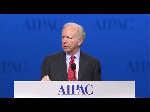 Senator Joe Lieberman Speech