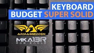 Keyboard Gaming Full Size Budget Versi Armageddon   Review MKA-13R RGB Eagle