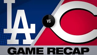 Hill, homers power Dodgers past Reds, 6-0 - 5/17/19
