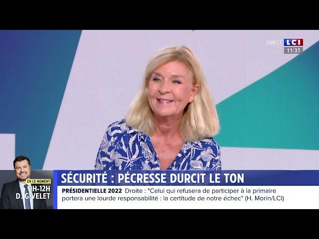 Marion Pariset, secrétaire générale du Millénaire, invitée sur LCI le 5 septembre 2021