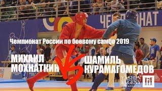 МИХАИЛ МОХНАТКИН vs ШАМИЛЬ КУРАМАГОМЕДОВ / боевое самбо