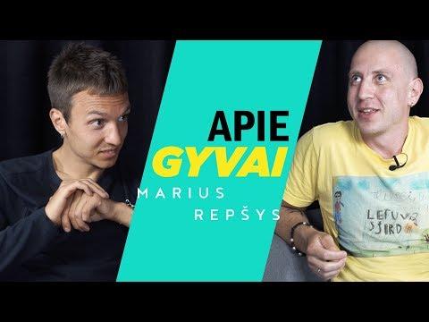 APIE GYVAI: MARIUS