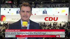 LIVE:  Der Parteitag der CDU in Leipzig. #cdupt19