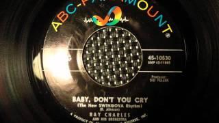 RAY CHARLES - BABY DON