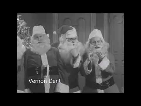 Vernon Dent playing Santa on I Love Lucy
