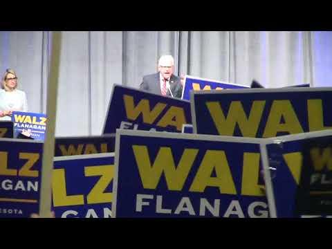 Tim Walz At DFL Convention - Full Speech