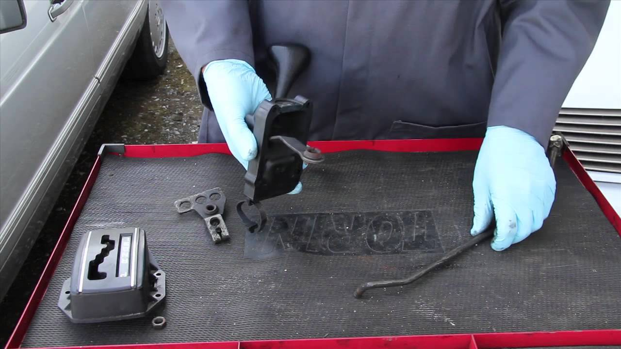 small resolution of loose and rattling mercedes automatic transmission shift levers and rods
