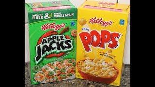 Gambar cover Apple Jacks & Corn Pops Cereal Review