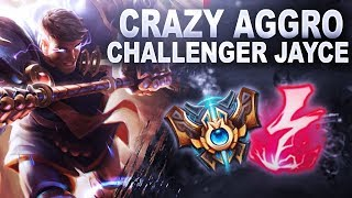 CRAZY AGGRO JAYCE Challenger Spectates NA Edition League of Legends