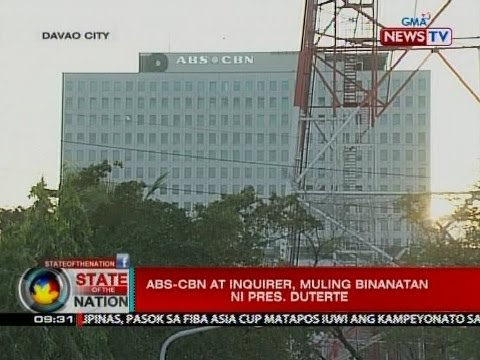 SONA: ABS-CBN at Inquirer, muling binanatan ni Pres. Duterte