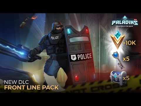 Paladins - Introducing the Front Line Pack!