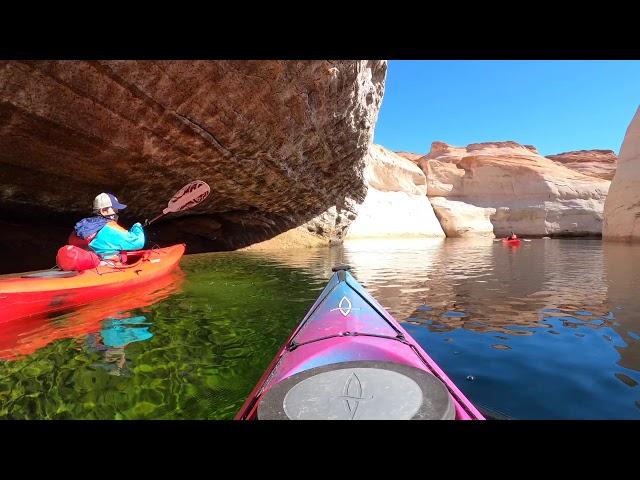 02-18 Kayak Tour of Antelope Canyon. First Antelope tour of 2021.