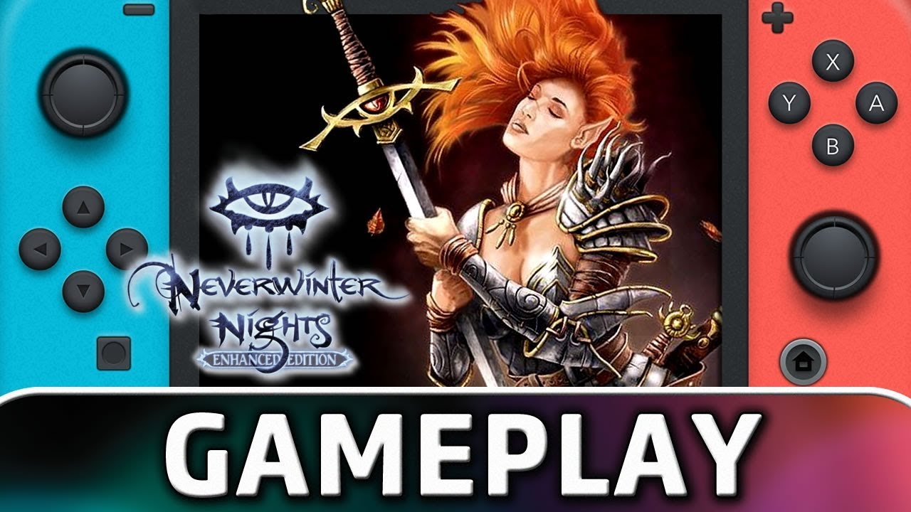 Neverwinter Nights: Enhanced Edition | First 20 Minutes on Nintendo Switch