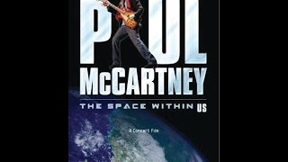 PAUL McCARTNEY THE SPACE WITHIN US