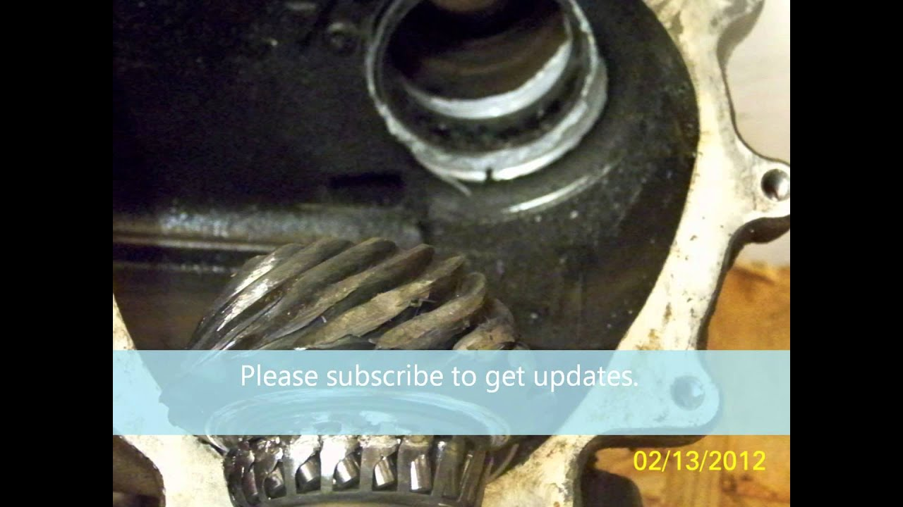 2004 Volvo XC90 Angle (Bevel) Gear Replacement - YouTube