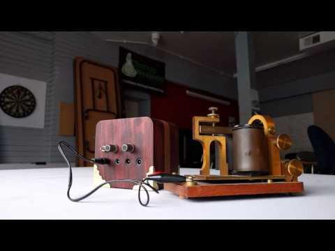 American Morse Code Telegraph Player