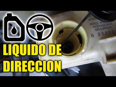 Cambiar el LIQUIDO DE DIRECCION Hidraulica