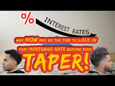 Why NOW May be the Time to Lock in that Mortgage Rate BEFORE the Taper - Mortgage Refinance