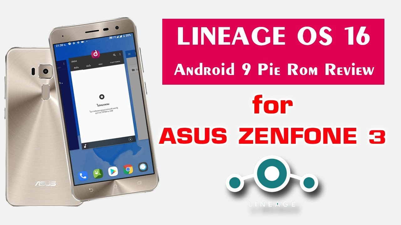 LINEAGE OS 16 for asus zenfone 3 | Android Pie 9 0 Pie