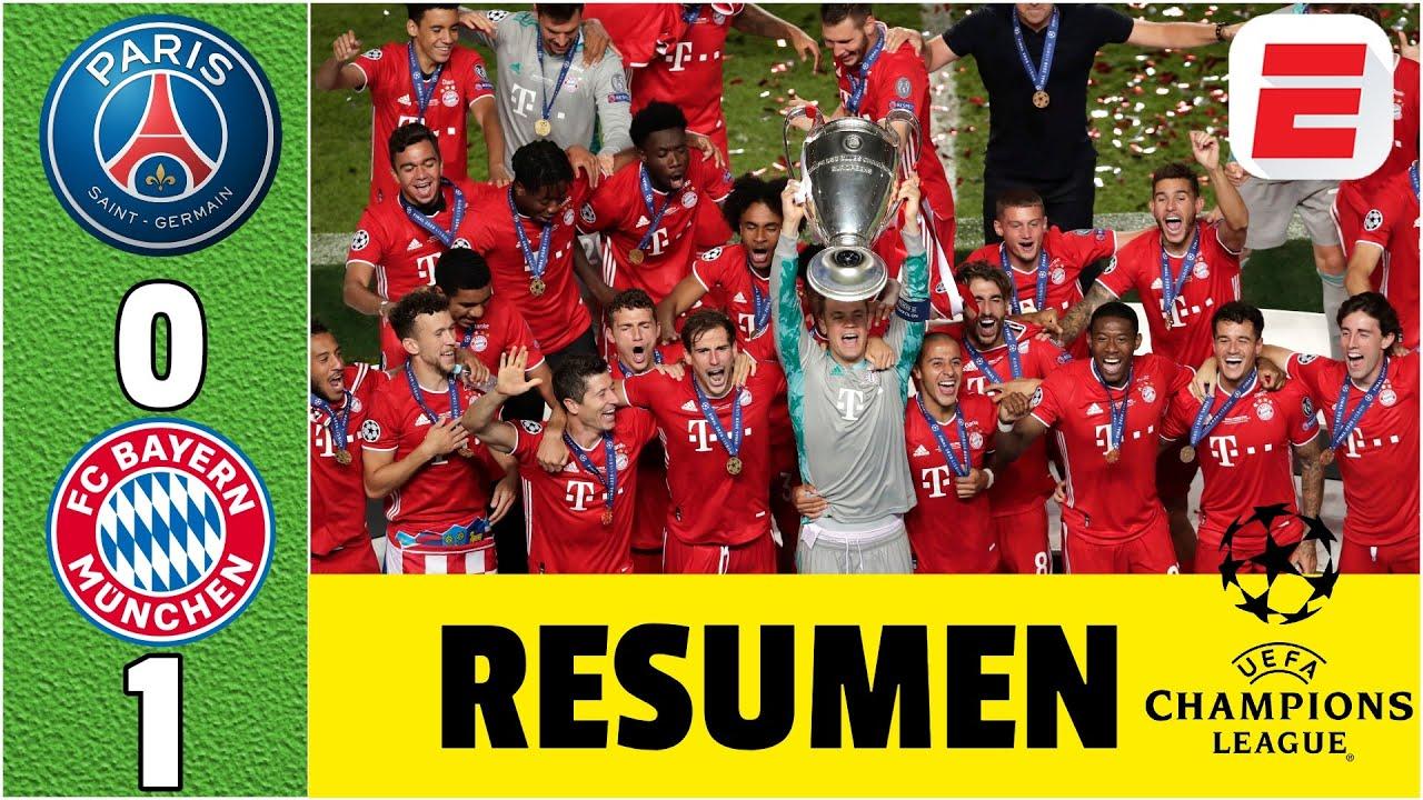 PSG 0-1 Bayern Munich RESUMEN UCL | Gol de Coman le da su sexta UEFA Champions League a los alemanes