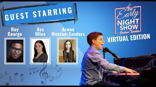 S3 Ep12 Dueling pianos w Roy George, talks Frozen w Arwen Monzon-Sanders, former Matilda, Ava Ulloa.
