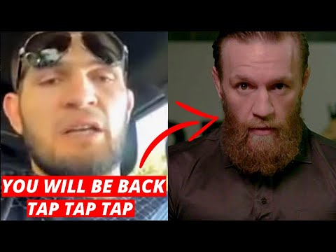 Khabib Reacts To Conor McGregor's Retirement. You Will Be Back In An Hour. UFC Vs Jones, Masvidal