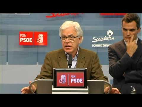 El PSN-PSOE pide a los Gobiernos que garanticen el suministro eléctrico en toda Navarra