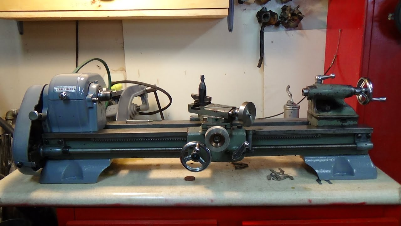 Craftsman 6 Inch Lathe Almost Done Help Youtube