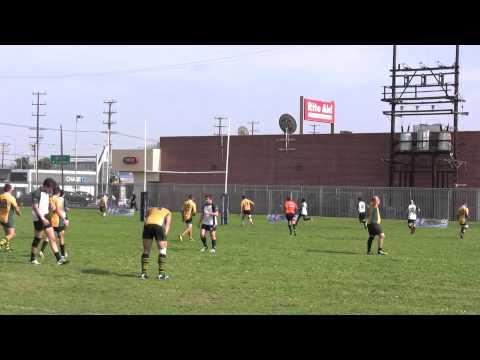 SMRC Barracuda Vs. Huntington Beach Unicorns II's Rugby Highlights (Week 8, 2011)