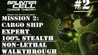 Splinter Cell: Chaos Theory Mission 2 100% Stealth Walkthrough No Commentary