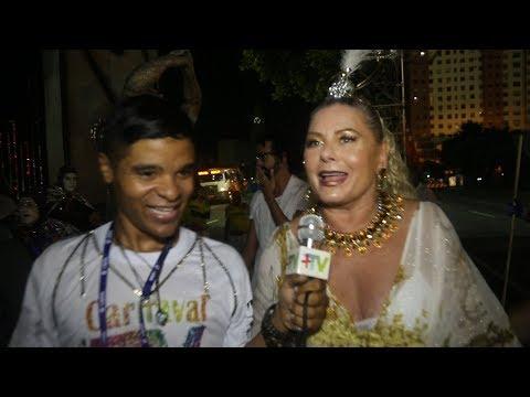 🎉 Carnaval Plus TV 2018 || Vera Fischer - De Volta à Estácio de Sá Depois de Mais de 20 Anos