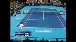 Sampras vs McEnroe Boston - Semi Final