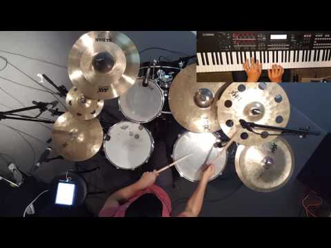 Here As In Heaven - Elevation Worship - Piano & Drum Cover by Juan Sebastian Cuentas