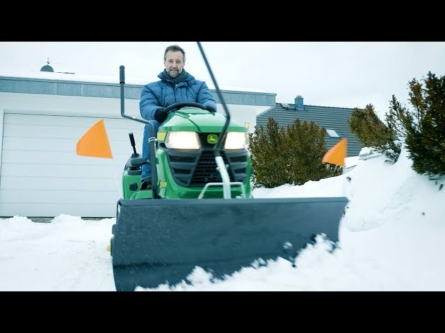John Deere - X350R: Einsatz im Winter