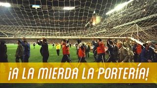 Cuando SE ROMPIÓ la portería del REAL MADRID
