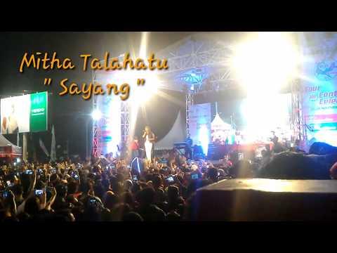 Mitha Talahatu sayang, konser di Kota Palu Nov 2017