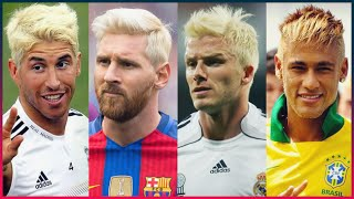 Most Famous Footballers Who Have Dyed Their Hair Blond