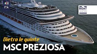 MSC Preziosa è una stupenda nave da crociera per una vacanza da sog...