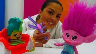 Ecole en fête №3 - Salon de coiffure PlayDoh - Poopy de Trolls streaming