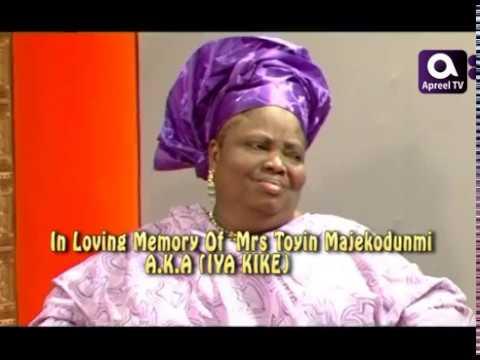 GbajumoTV interview with Late Chief Mrs Toyin Majekodunmi
