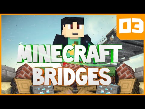 Minecraft Mini-Games: Bridges w/ TheIronMango Episode 3 - FLYING HACKER (Mineplex Bridges MiniGame)