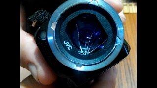 замена защитного стекла на видеокамере JVS(Столкнулся с проблемой, разбили защитное стекло на видеокамере. в сервисном центре отказали в ремонте так..., 2016-10-07T17:38:56.000Z)